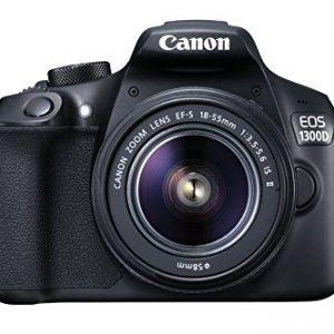 Canon-EOS-1300D-Cmara-rflex-de-18-Mp-pantalla-de-3-Full-HD-18-55-mm-f15-56-NFC-WiFi-color-negro-Kit-con-objetivo-EF-S-18-55-mm-f35-56-IS-II-0