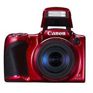 Canon-PowerShot-SX410-IS-Cmara-compacta-de-20-Mp-pantalla-de-3-zoom-ptico-40x80x-estabilizador-ptico-grabacin-de-vdeo-HD-roja-0