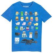 Minecraft-Camiseta-para-nio-Minecraft-Azul-7-8-Aos-0-0