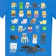 Minecraft-Camiseta-para-nio-Minecraft-Azul-7-8-Aos-0-1