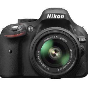 Nikon-D5200-Cmara-rflex-digital-de-241-Mp-pantalla-3-estabilizador-ptico-grabacin-de-vdeo-negro-kit-con-objetivo-Nikkor-AF-S-DX-18-55-mm-f35-VR-II-0