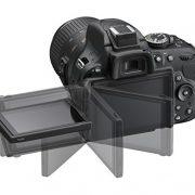 Nikon-D5200-Cmara-rflex-digital-de-241-Mp-pantalla-3-estabilizador-ptico-grabacin-de-vdeo-negro-kit-con-objetivo-Nikkor-AF-S-DX-18-55-mm-f35-VR-II-0-8