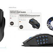 HAVIT-Ratn-para-gaming-MMO-19-botones-programables-12000dpi-7-l-LED-7-ajustable-DPI-de-Alta-Precisin-12-botones-de-Macro-ms735-0-5