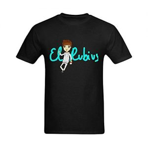 Mens-El-Rubius-Chibi-T-shirt-XXXX-L-0