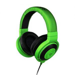 Razer-Kraken-Auriculares-Gaming-de-diadema-abiertos-control-remoto-integrado-110-dB-32-Ohmio-USB-color-verde-0