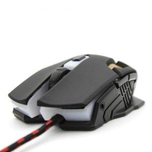 Rcool-Ajustable-2400DPI-ptica-de-Juego-de-Ratones-para-PC-Porttil-Negro-0