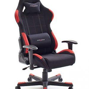 Robas-Lund-DX-Racer3-62505SG4-Silla-de-escritorio-de-oficina-color-negro-y-rojo-0
