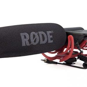 Rode-VideoMic-Rycote-Micrfono-de-condensador-estreo-9V-40-Hz-20-kHz-negro-0