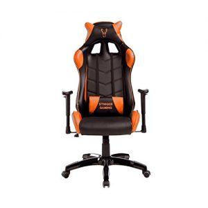 Wo-x-ter-Stinger-Station-Orange-Silla-de-oficina-y-gaming-con-eje-de-acero-sistema-de-levantamiento-del-respaldo-por-gas-ruedas-silenciosas-piel-sinttica-53-x-53-x-129-cm-color-naranja-0
