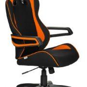 hjh-OFFICE-621842-RACER-PRO-II-Silla-gaming-y-oficina-tejido-negro-naranja-0-0