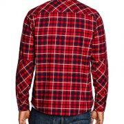 Carhartt-LS-Shirt-Camisa-Para-Hombre-Multicolor-Torres-Check-Blast-RED-L-0-0