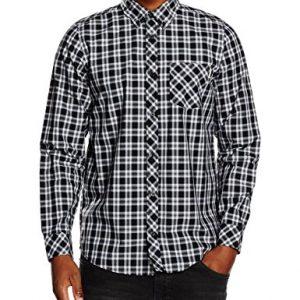 Carhartt-LS-Shirt-Camisa-para-Hombre-Multicolor-Leon-Check-Sparrow-Rinsed-S-0