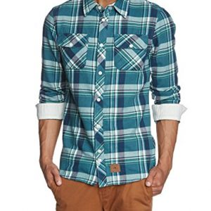 ONeill-LM-Violater-Flannel-Shirt-Camisa-para-hombre-color-azul-desgastado-talla-S-0