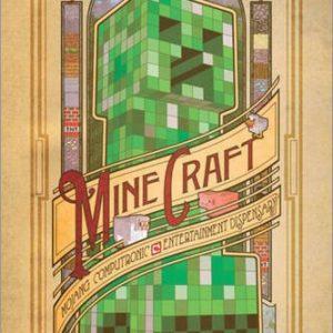 Pster-Minecraft-Computronic-cartel-econmico-pster-XXL-0