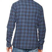 Rip-Curl-Check-It-Ls-Shirt-Camisa-para-hombre-color-azul-talla-S-0-0