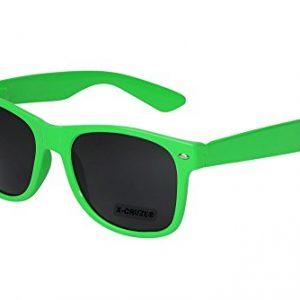 X-CRUZE-8-012-Gafas-de-sol-nerd-retro-vintage-unisex-hombre-mujer-gafas-nerd-verde-claro-0